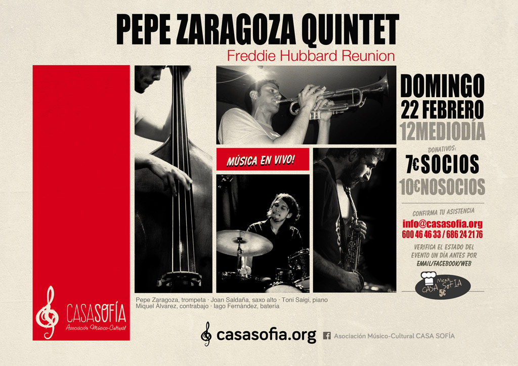 Pepe Zaragoza Quintet Freddie Hubbard Reunion