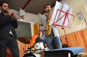 Pepe Zaragoza Quintet-Freddie Hubbard reunion-Casa Sofia