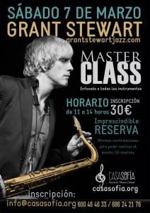 Grant Stewart Masterclass