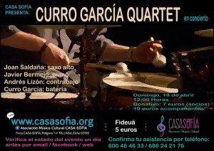 Curro Garcia Quartet