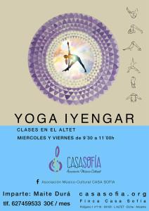 yoga iyengar casa sofia
