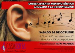 entrenamiento auditivo Patxi Valverde