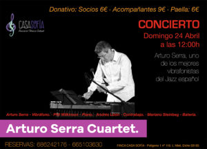 Concert Arturo Serra quartet