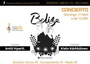 concierto belize