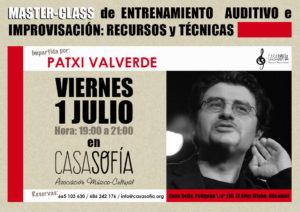 Masterclass Patxi Valverde