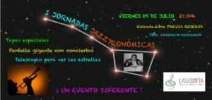 I Jornadas Jazztronomicas